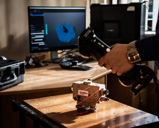 Skaning ręczny 3D